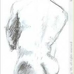 Life drawing (vine charcoal)
